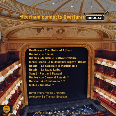 Beecham Conducts Overtures - Royal Philharmonic Orchestra