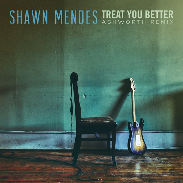 Treat You Better (Ashworth Remix) - Single Shawn Mendes album cover