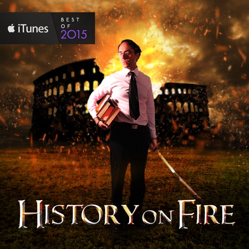 Cover image of History on Fire