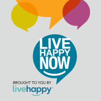 Podcast cover art for Live Happy Now