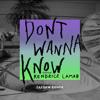 Maroon 5 - Don't Wanna Know (feat. Kendrick Lamar) [Zaeden  Remix] artwork