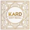 K.A.R.D Project, Vol. 2 - Don't Recall (Hidden Ver.) - Single, KARD