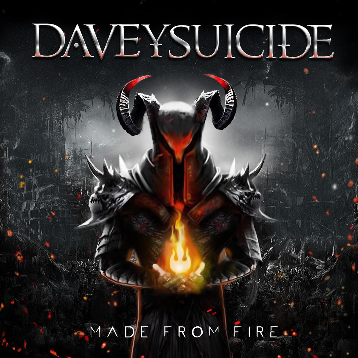 Made from Fire Davey Suicide CD cover