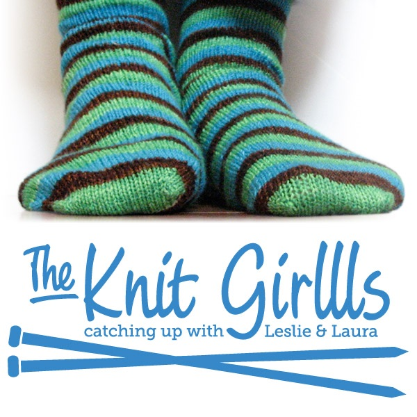 TheKnitGirllls Ep395 - Man-Spread Your Stitches