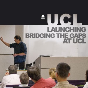 Launching Bridging the Gaps at UCL - Video