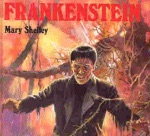 Cover image of Frankenstein by Mary Shelly - The Audio Book