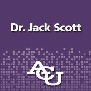 Dr. Jack Scott, California state senator
