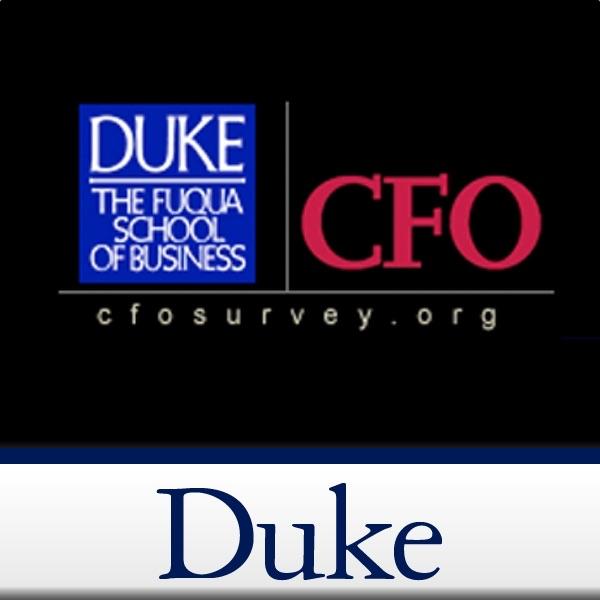 Duke/CFO Magazine Global Business Outlook Survey Podcast