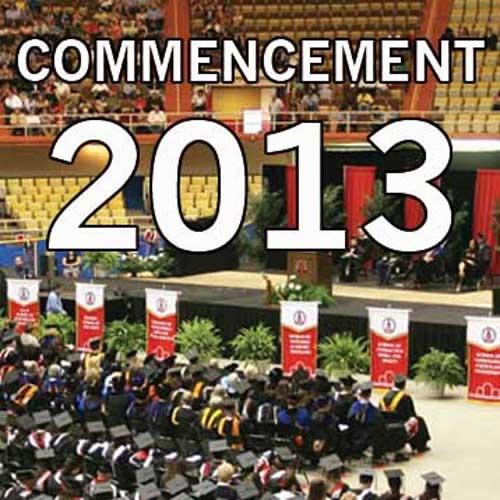 Commencement Ceremonies - 2013