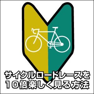 サイクルロードレースを10倍楽しく見る方法