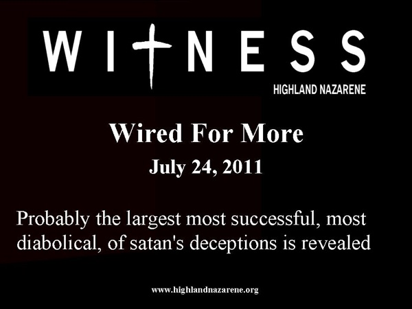 Highland Nazarene - Wired For More