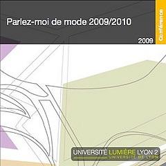 Parlez-moi de mode 2009-2010