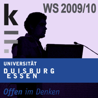 Die kleine Form: Wintersemester 2009/2010 podcast
