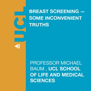 Breast Screening - some inconvenient truths - Video