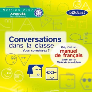 ALMA語学教材Conversations dans la classe, Version Avancee / faux debutants