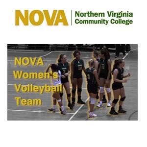 NOVA Women's Volleyball Team