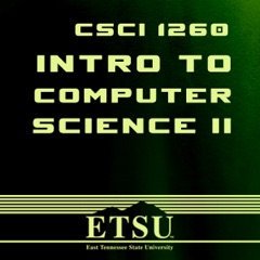CSCI 1260 - Intro to Computer Science II