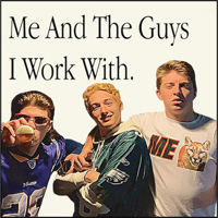 Me and the Guys I Work With podcast