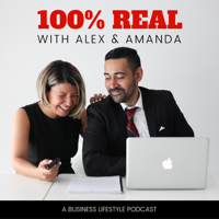 100% Real with Alex & Amanda podcast
