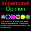 Impersonal Opinion artwork