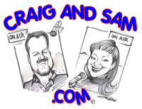 Craig and Sam in the Morning podcast