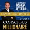 Conscious Millionaire Show ~ Business Coaching and Mentoring 6 Days a Week artwork