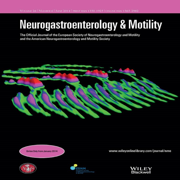 Neurogastroenterology & Motility – May 2016