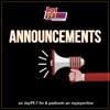 Announcements artwork