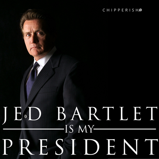 Cover image of Jed Bartlet is My President
