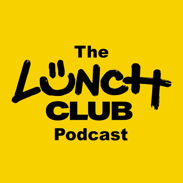 Lunch Club Podcast banner backdrop