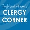 Temple Israel of Boston's Clergy Corner artwork
