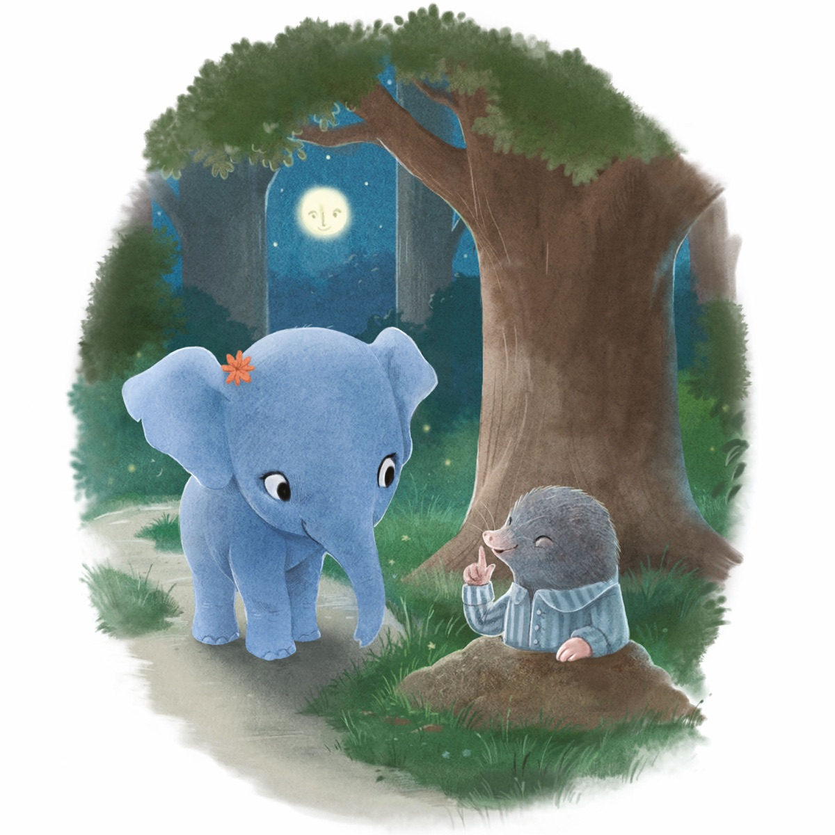 The Little Elephant Who Wants to Fall Asleep: Reclaim Bedtime Podcast