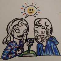 Chelsea and Charlie Chatting Cheerfully podcast