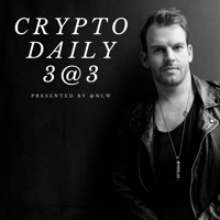 Crypto Daily 3@3 podcast