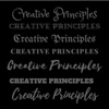 Creative Principles artwork