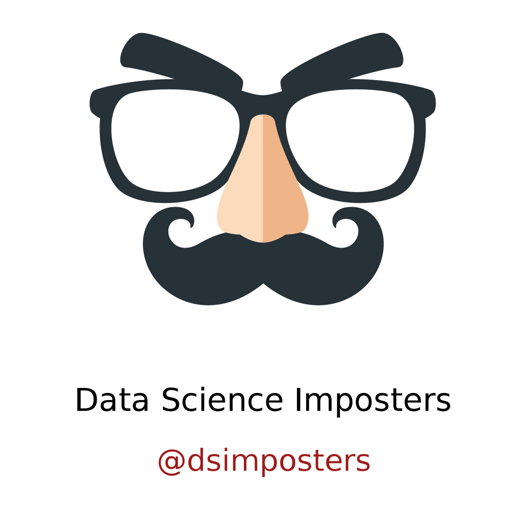 Cover image of Data Science Imposters Podcast