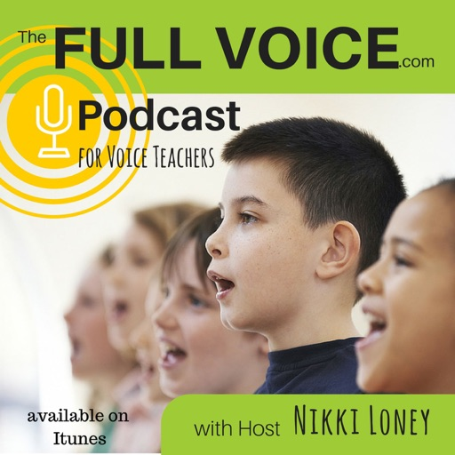 Cover image of The Full Voice Podcast With Nikki Loney