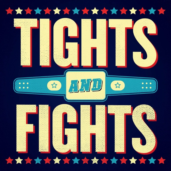 Tights and Fights banner backdrop