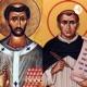 A relação do pensamento grego em Santo Agostinho e Tomás de Aquino.