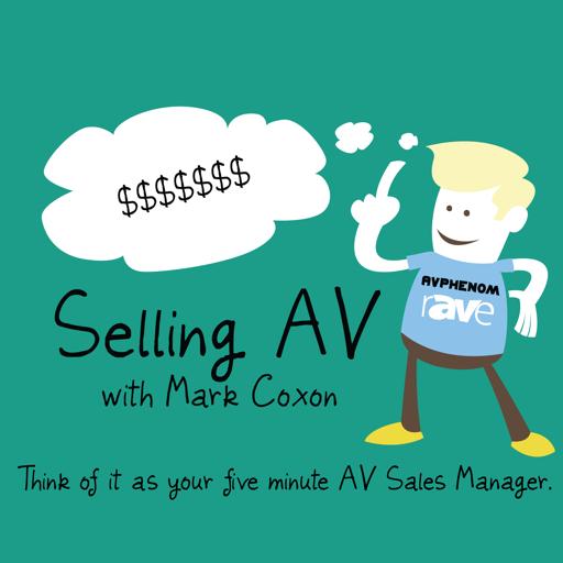 Cover image of Selling AV — rAVe [Publications]