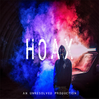 Podcast cover art for Hoax
