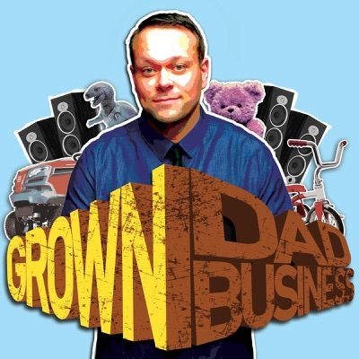The Bat-Dad Terry Jones: Part ONE #GrownDadBusiness ep.172
