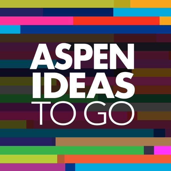 Aspen Ideas to Go banner backdrop