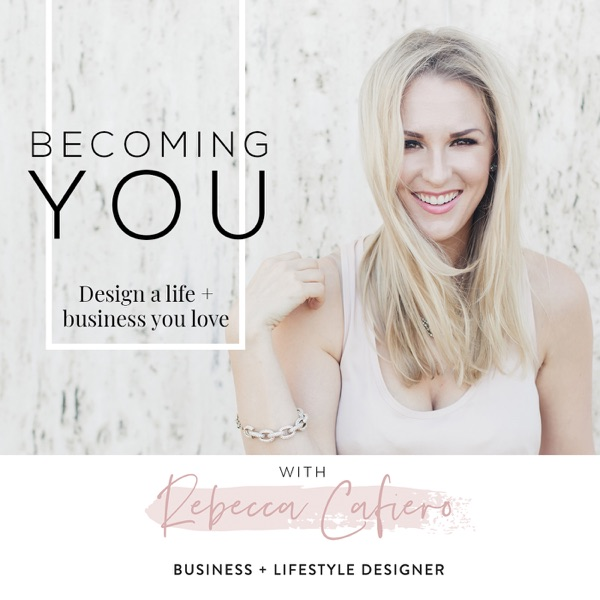 Becoming You Podcast banner backdrop