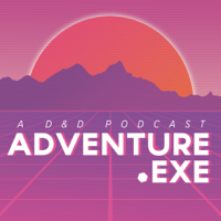 Podcast cover art for ADVENTURE.EXE