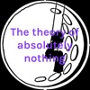The theory of absolutely nothing artwork
