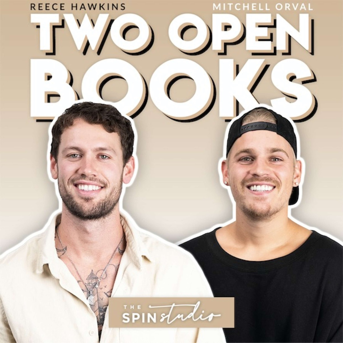 Two Open Books