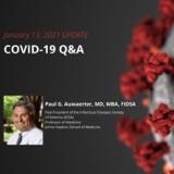 UPDATE 1/13/2021 - COVID-19 Q&A