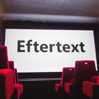 Eftertext podcast