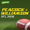 Peacock and Williamson NFL Show - Daily Podcast Powered by Locked On artwork